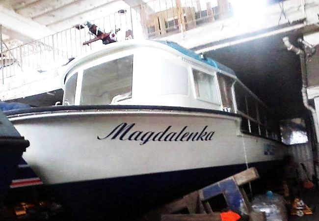 Chartering of a ship Magdalenka