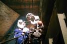 Zbiornikowiec LOTOS-u Petrobaltic przeszedł okresowy przegląd z użyciem dronów (wideo)