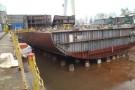 Potrójne wodowanie w stoczni CRIST (foto)
