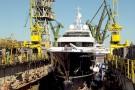 Wędrowiec z Gdańska - największy luksusowy jacht zbudowany w Polsce (foto, wideo)