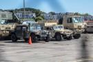Prawie 300 amerykańskich pojazdów wojskowych w Porcie Gdynia (foto)