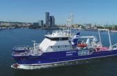 Oceanograf, nowy statek naukowo-badawczy Uniwersytetu Gdańskiego wypłynął w morze [foto,wideo]