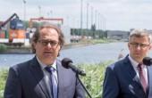 Gróbarczyk: pierwsza próba śluzy na stopniu wodnym w Malczycach 4 czerwca