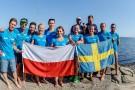 Udało się! Amatorscy pływacy przepłynęli Bałtyk wpław