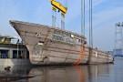 W Stoczni Szczecińskiej zwodowano kolejny megajacht (foto, wideo)