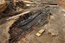 Drewniana łódź znaleziona na budowie nowej linii metra w Sydney. Unikatowe odkrycie