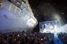 Chrzest nowoczesnego wycieczkowca Symphony of the Seas (wideo)