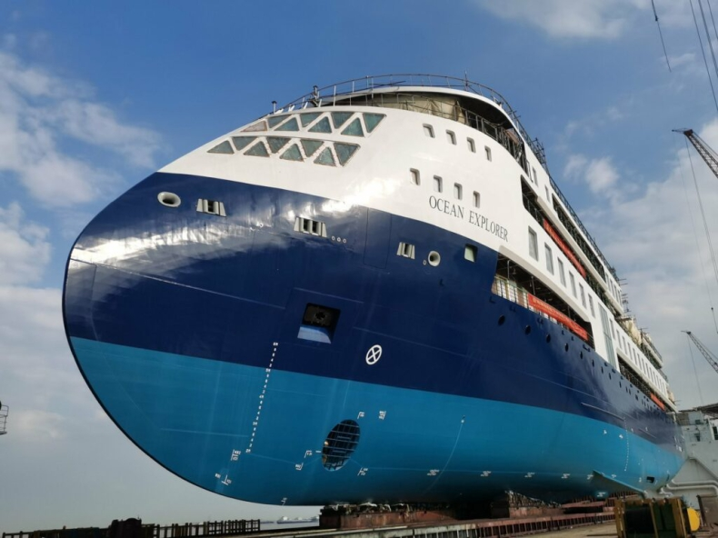 Ocean Explorer zwodowany w Chinach - GospodarkaMorska.pl