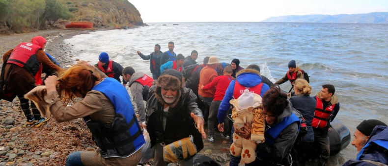 Ponad 150 migrantów uratowano na Morzu Egejskim - GospodarkaMorska.pl