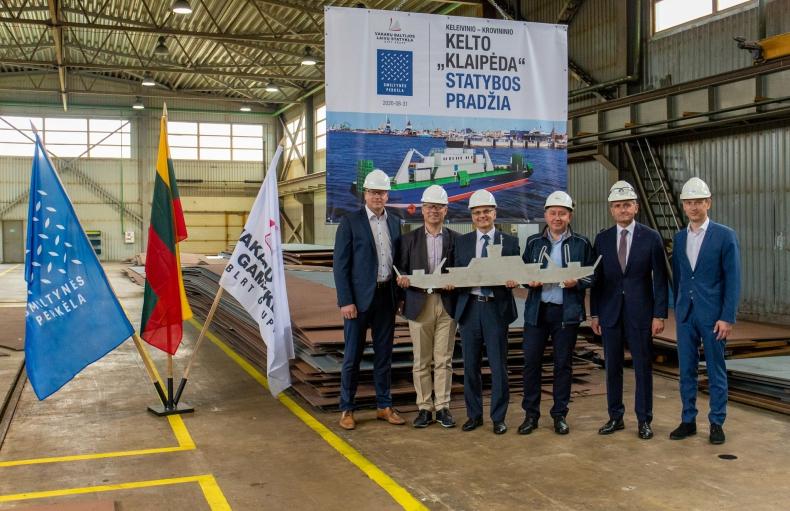 Litewska stocznia rozpoczęła budowę promu dla rodzimej firmy - GospodarkaMorska.pl
