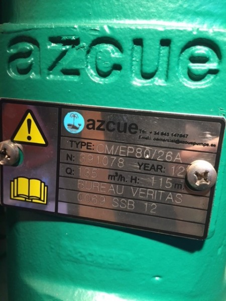 Azcue pump CM50/16A and others/complete/occasion - MarinePoland com
