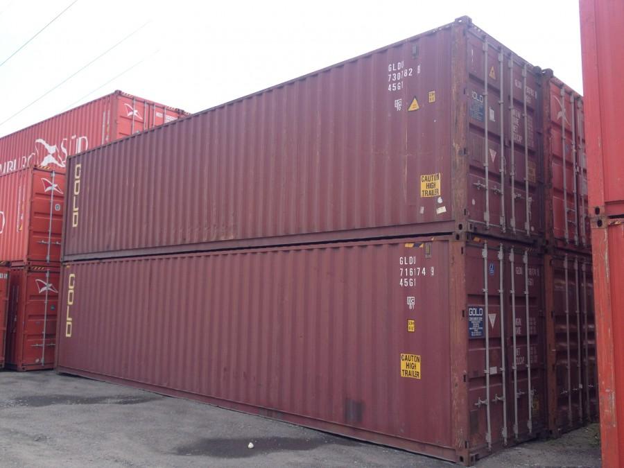 Modish Kontener 40'HC budowlany, magazynowy, morski - Atrakcyjne ceny AE56