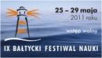 Instytut Oceanologii Polskiej Akademii Nauk zaprasza na Bałtycki Festiwal Nauki