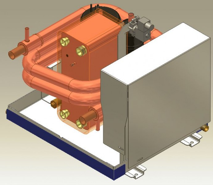 MARINE AIR CONDITIONING - INDEPENDENT SELF-CONTAINED AIR
