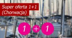 Super oferta czarteru jachtu w Chorwacji 1 + 1 GRATIS