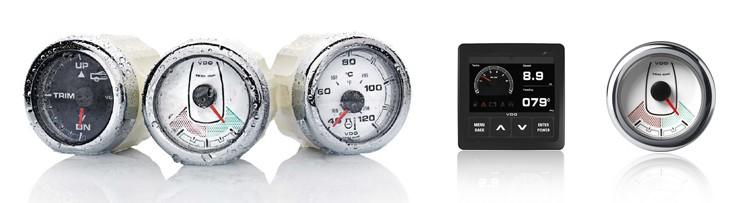 VDO Marine + NMEA2000 - indicators and marine displays