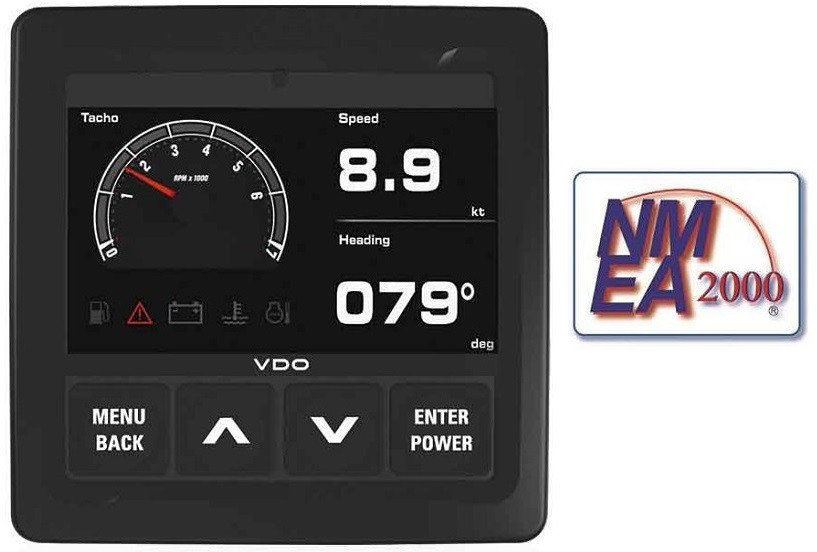 VDO Marine + NMEA2000 - indicators and marine displays