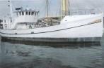 Jacht motorowy - ex trawler