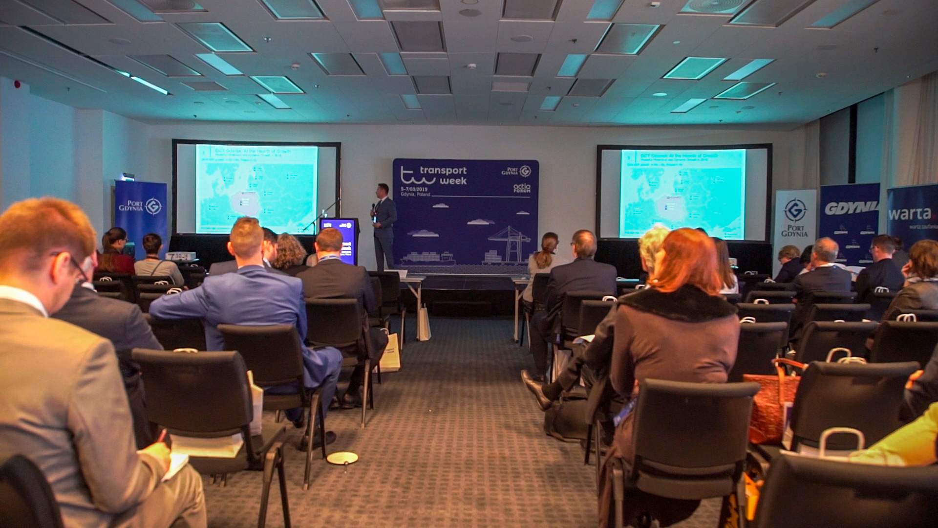 Divining the future of the port market – Transport Week 2019 kicks off in Gdynia