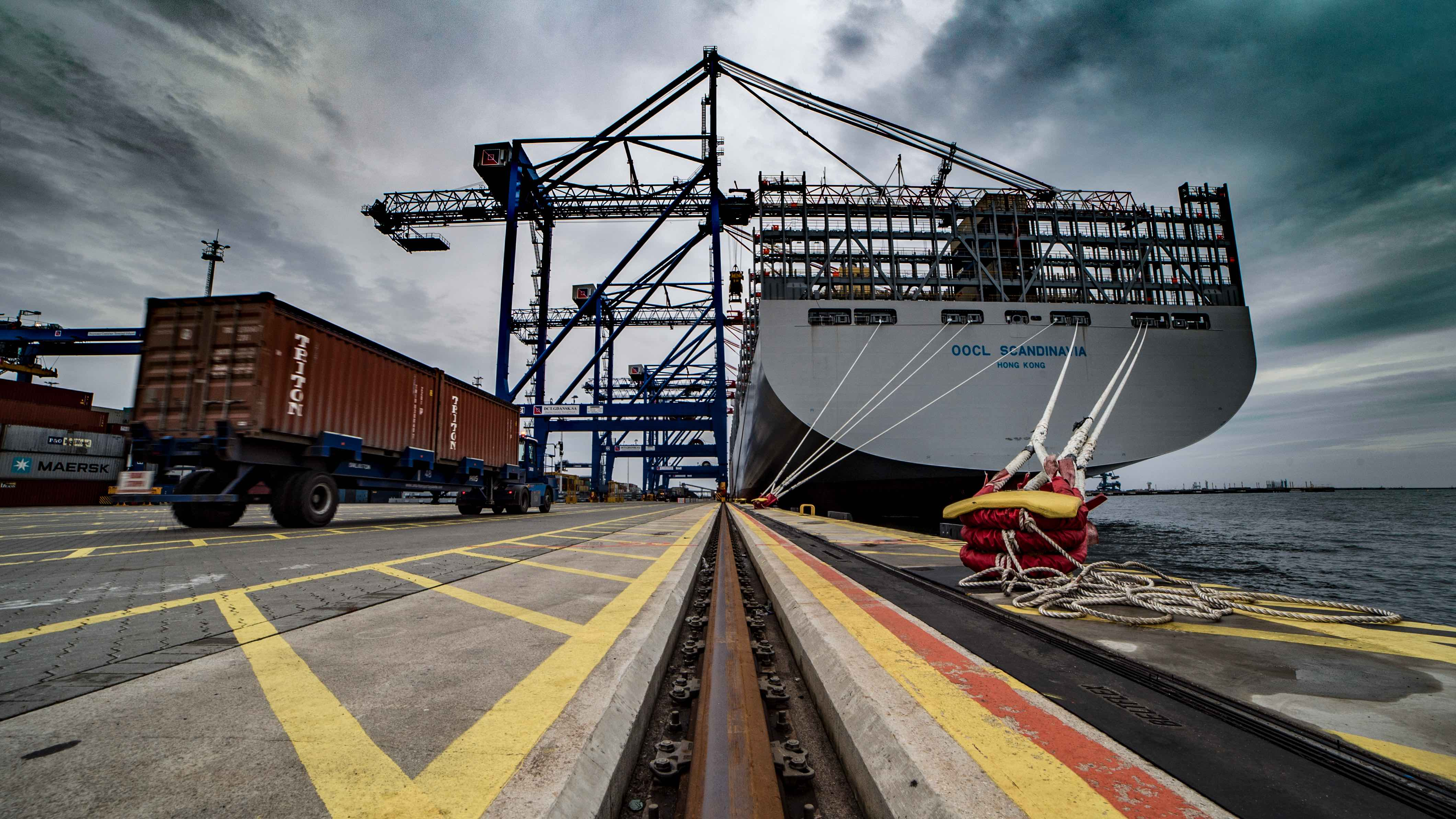Maritime Ports and Global Container Shipping in 2018