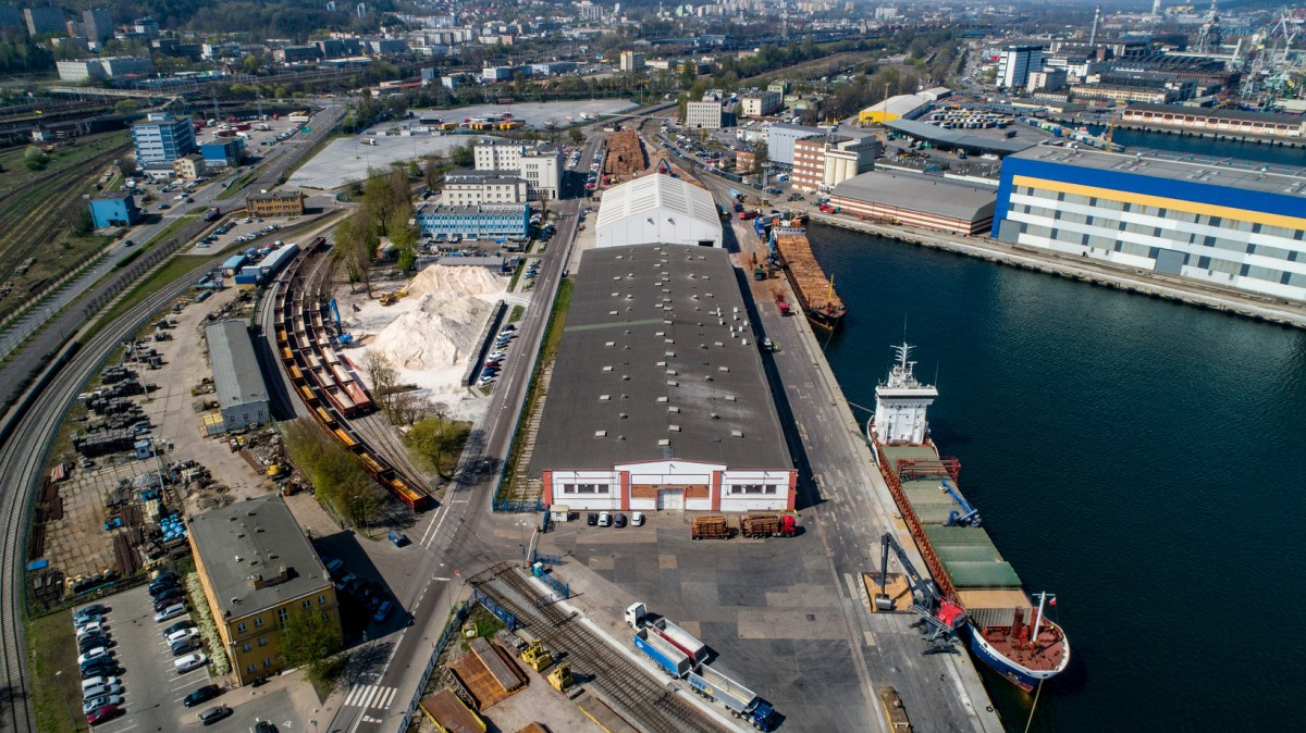 Polish company SPEED recorded very good transshipment results (photo, video)