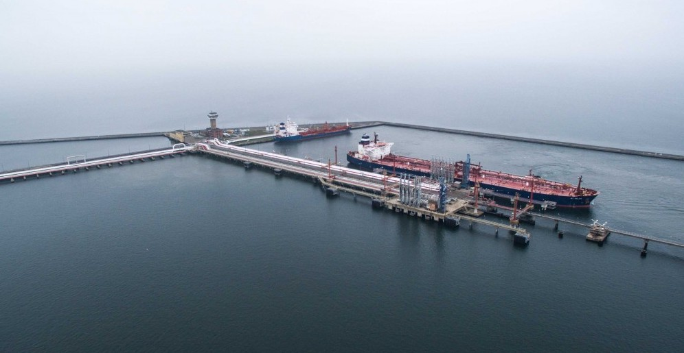 Naftoport collects more crude oil and confirms its strategic importance