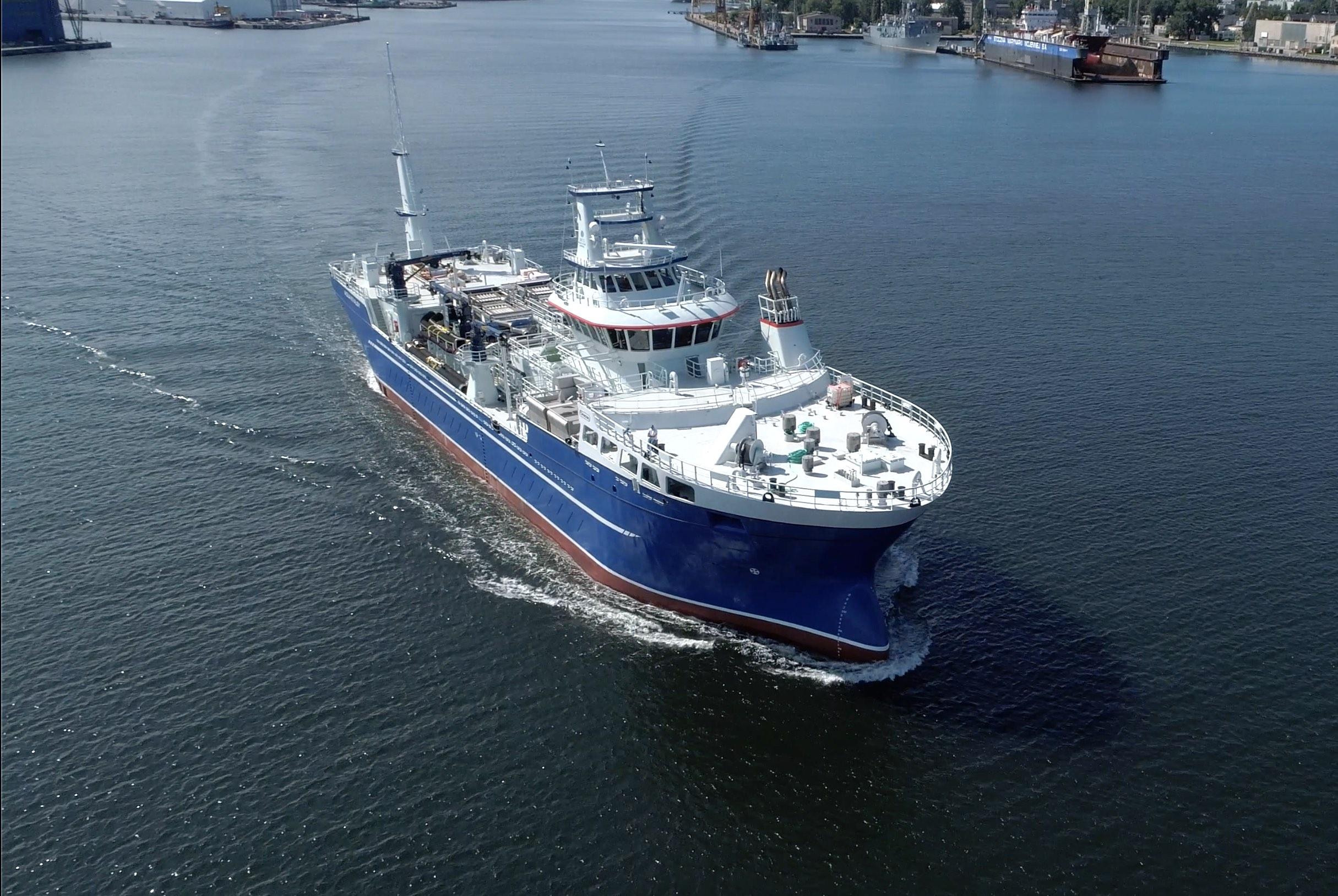 Next live fish carrier vessel has left CRIST shipyard [photo, video]