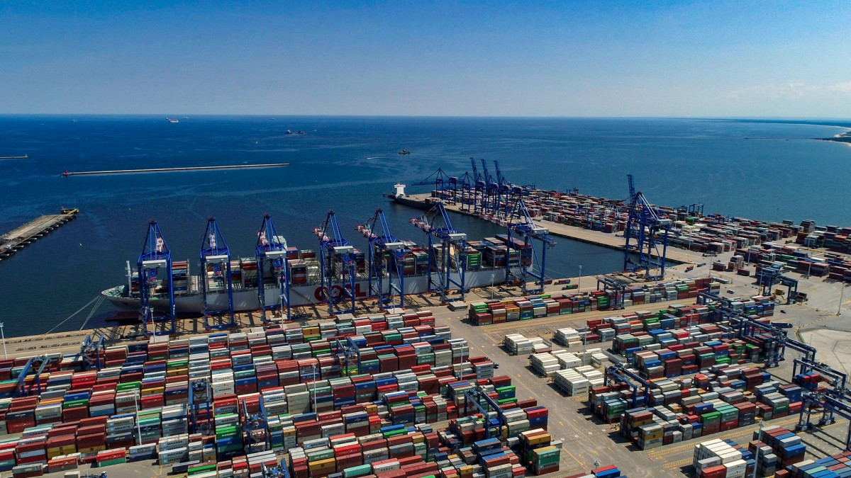 Record-breaking first half of 2019 in the Port of Gdansk. Port transshipped 27.3 million tons of goods