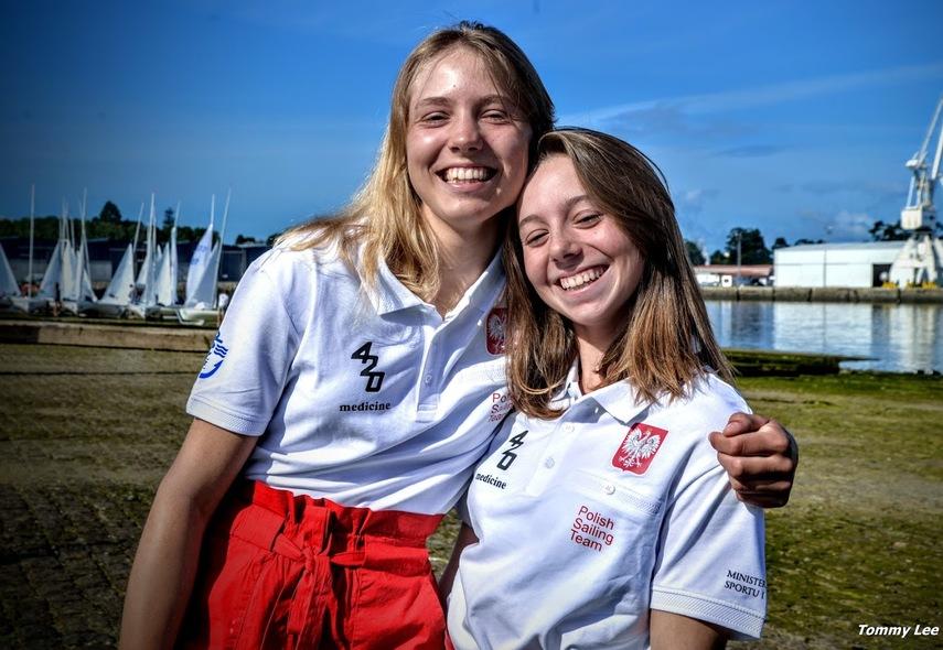 9d3bbcce5fd53a Zofia Korsak i Karolina Cendrowska mistrzyniami Europy juniorek w klasie  420! - Gospodarka morska.