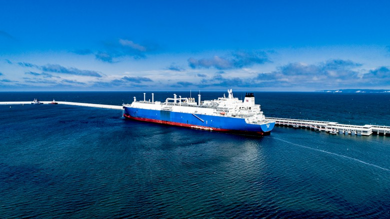 First cargo of US LNG under long-term agreement between PGNiG and Cheniere arrives in Poland [foto, wideo]