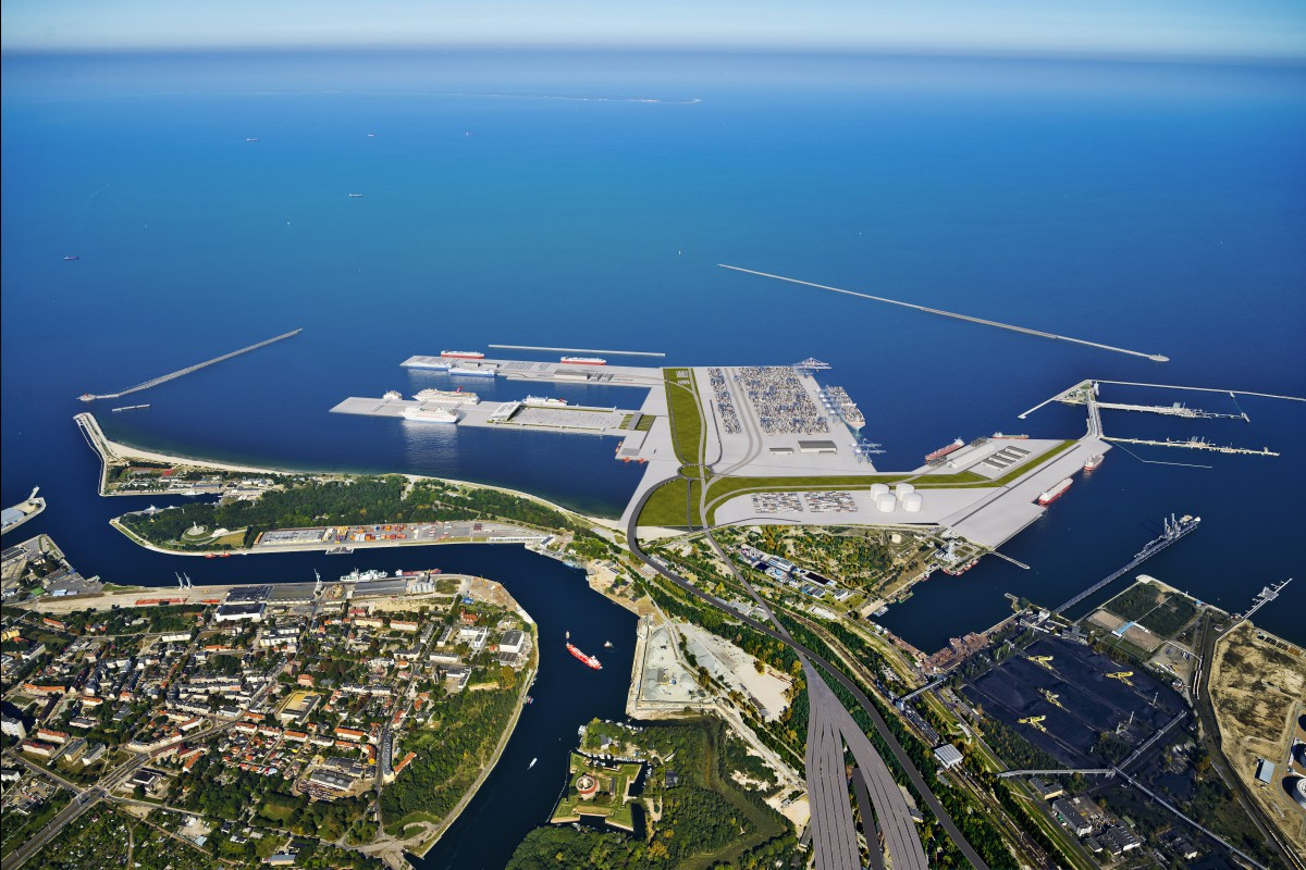 DS Consulting will help Port Gdańsk with construction of the Central Port (video)