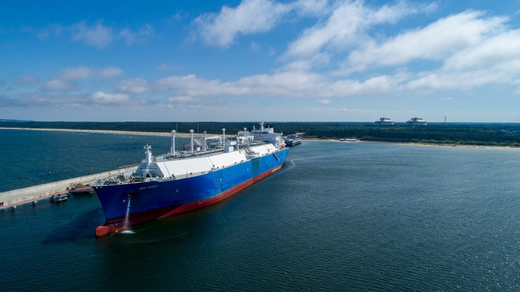 American gas was sold from Poland to Ukraine. PGNiG and ERU transaction