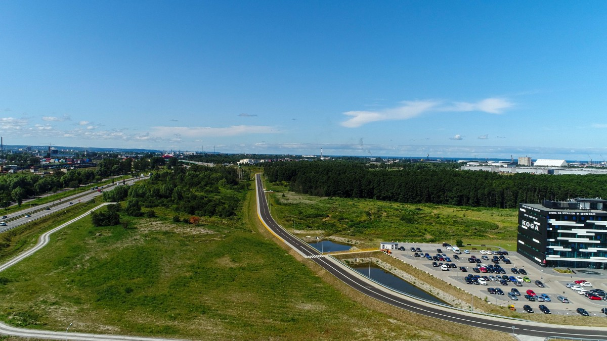 InvestGDA: Development of further investment areas at the back of the Gdansk port (photo, video)