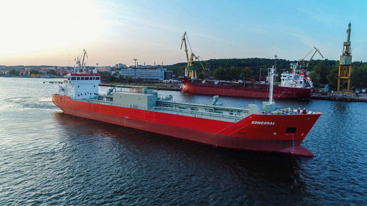 Modern cement carriers joined the Polish SMT Shipping fleet (photo, video)