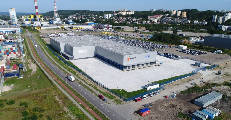 Opening of the High Storage Warehouse in the Port of Gdynia Logistics Center [photo, video]