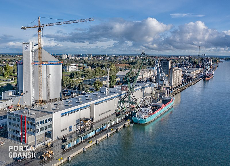 New Sugar Terminal in the Port of Gdansk