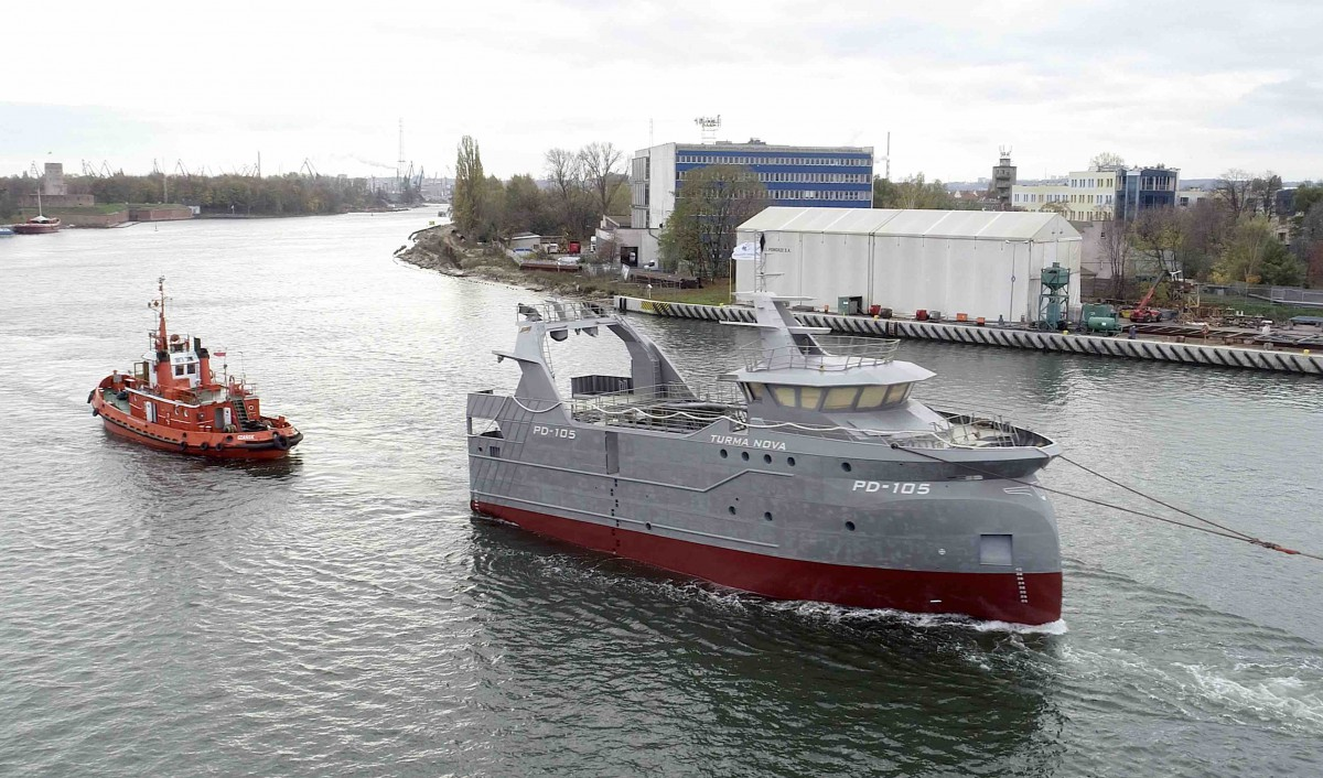 Safe Shipyard handed over another fishing trawler to Dutch company [photo, video]
