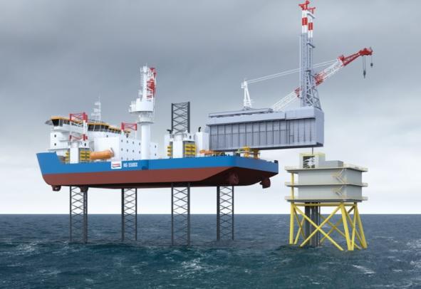 Jackup simulator course in Gdynia Maritime School