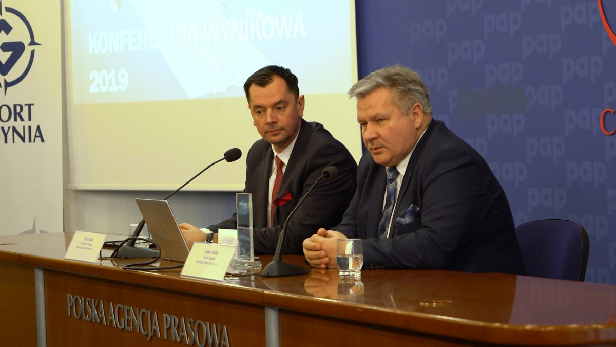 Port of Gdynia: Increase in transhipments and 54 million profit (photo, video)