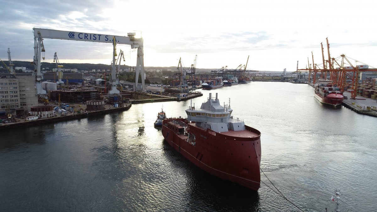 The most interesting CRIST Shipyard projects in 2019 (video, photo)
