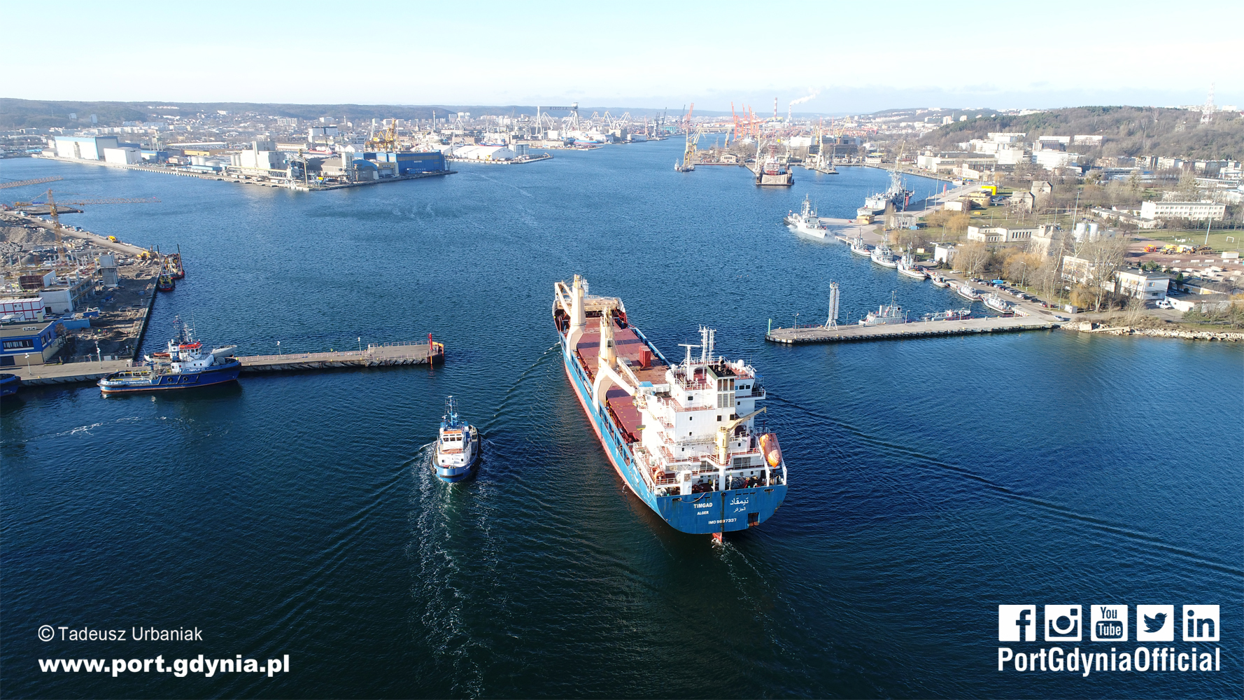 Port of Gdynia widens its Internal Entrance to 140 m