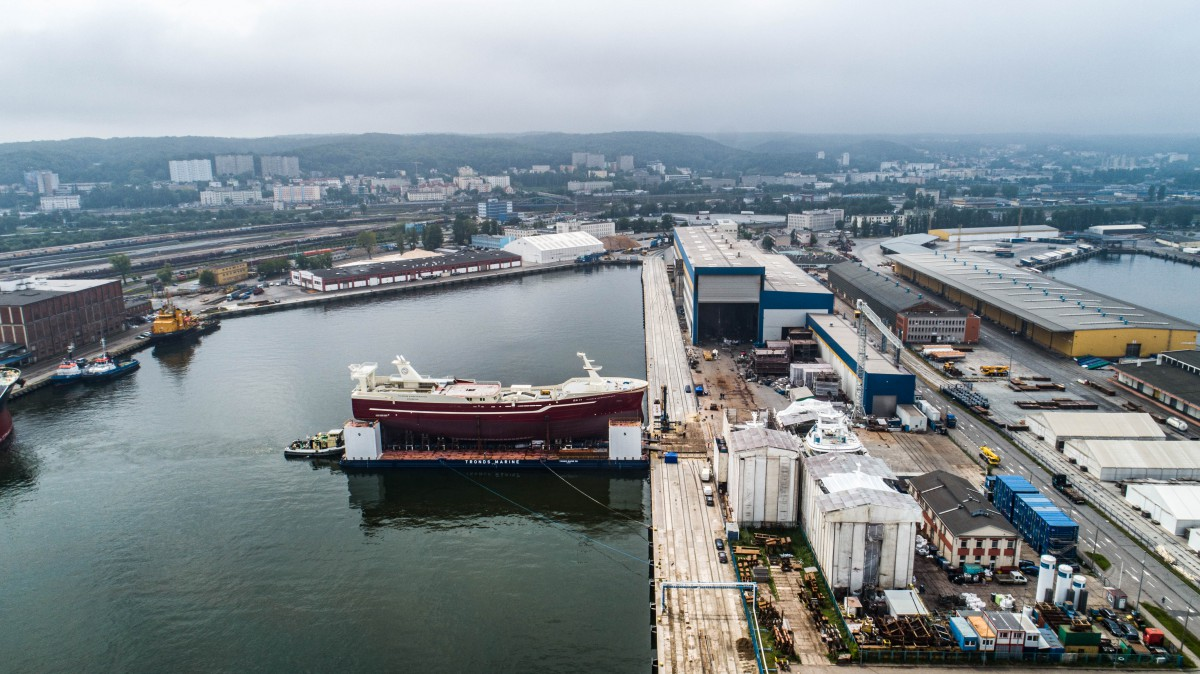 Karstensen Shipyard Poland launched another fishing vessel [photo, video]