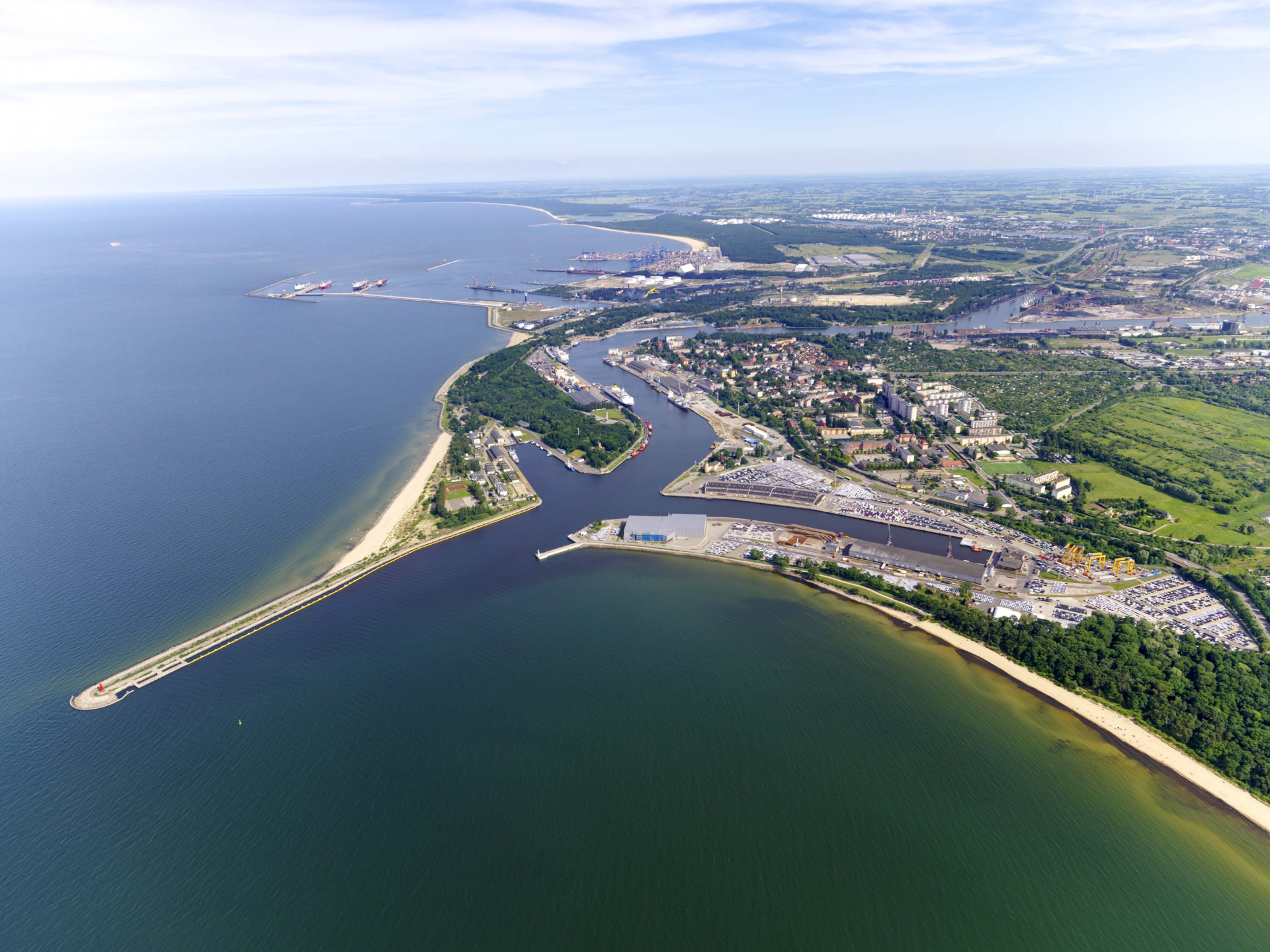 The Port of Gdansk is becoming one of the leading European ports