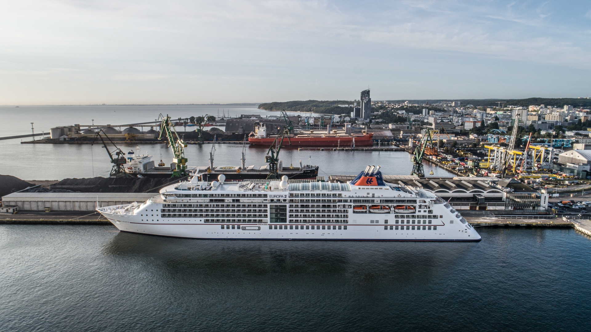 Europa 2: the first cruise ship of the season at the Port of Gdynia [photo, video]