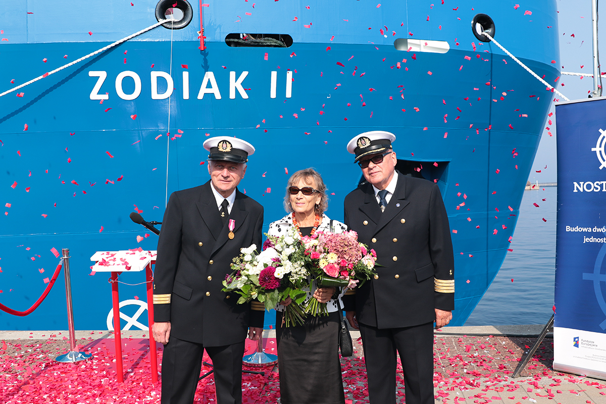 Zodiac II for the Maritime Office in Gdynia – ceremony