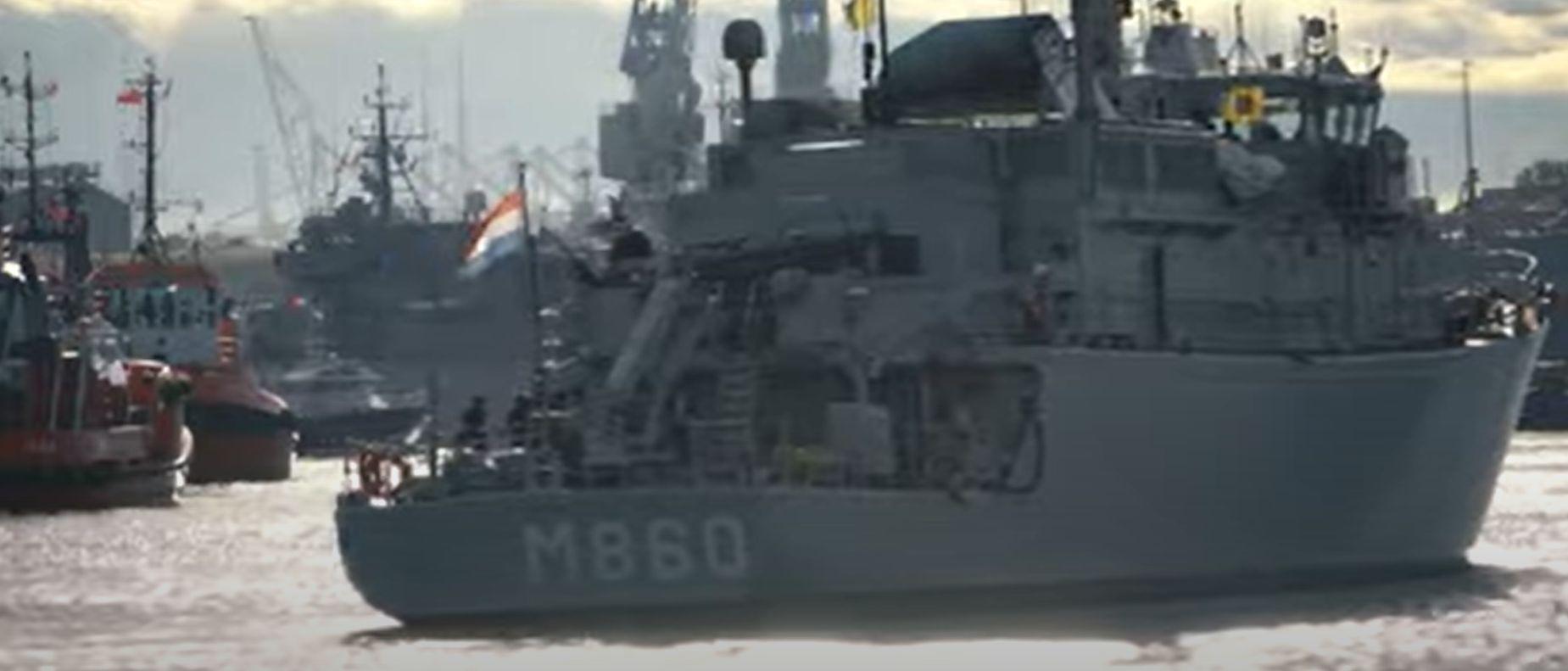 NATO ships at the Port of Gdansk