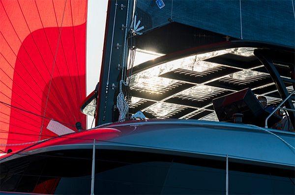 Sustainable energy generation on solar yachts