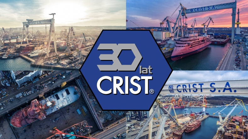 CRIST shipyard is celebrating its 30th birthday!