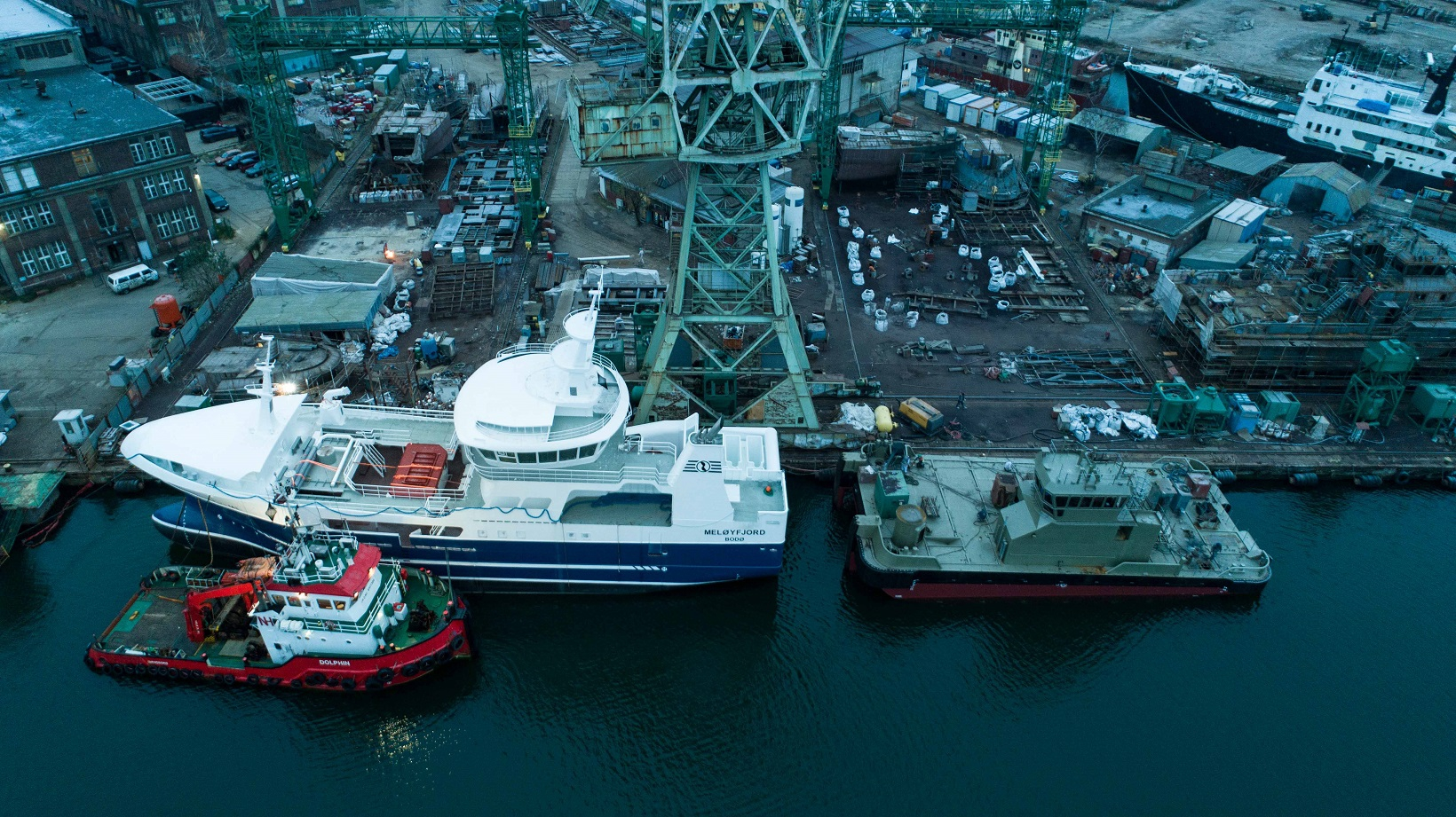 Work at the Safe Shipyard is in full swing! (photo, video)