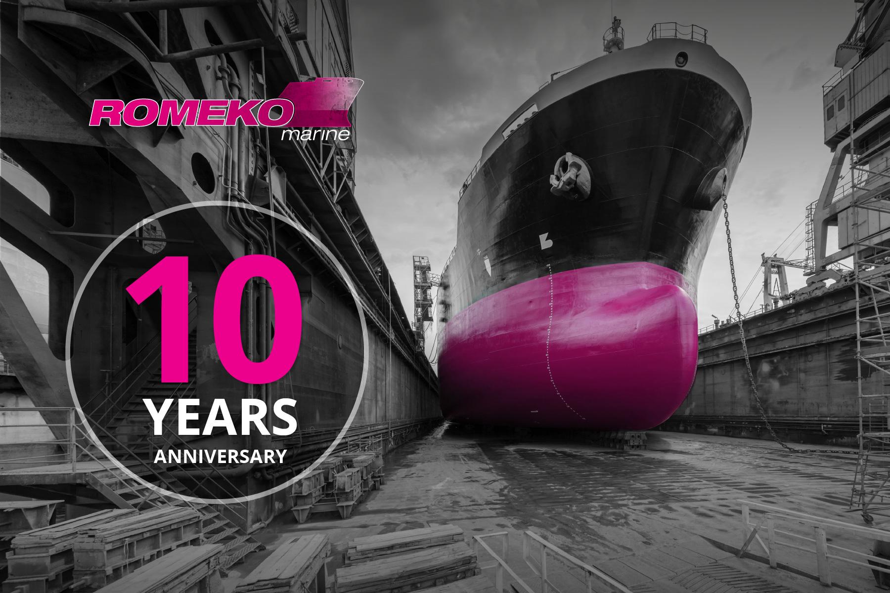 10th anniversary of ROMEKO!